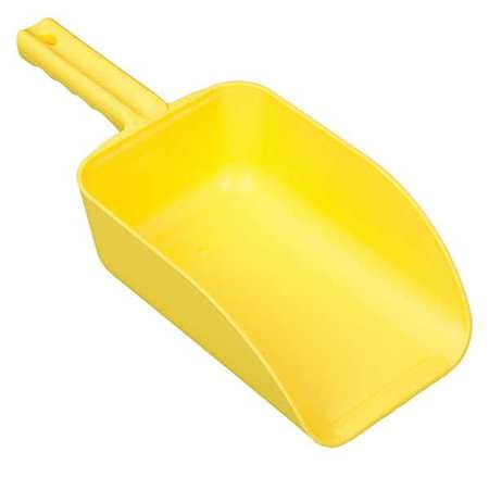 Large Hand Scoop, Yellow, 15 x 6-1/2 In