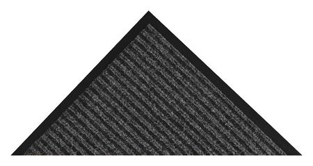 Carpeted Entrance Mat, Charcoal, 2ft.x3ft.