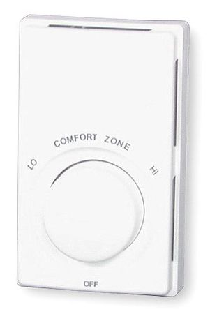 Baseboard Heat Wall Thermostat, 120/240V