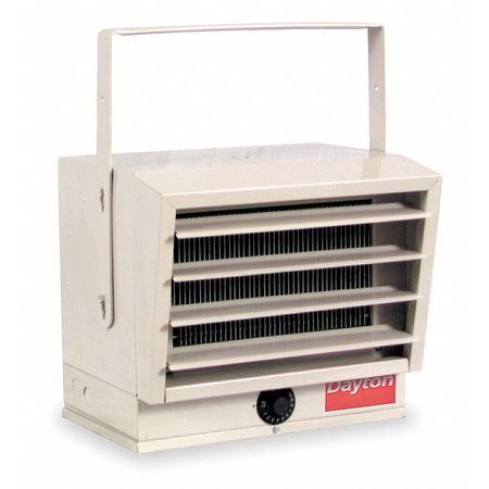5/4.1/3.3/2.5kW Electric Utility Heater,  1-Phase,  208V