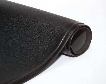Antifatigue Mat, Black, 3ft. x 5ft.
