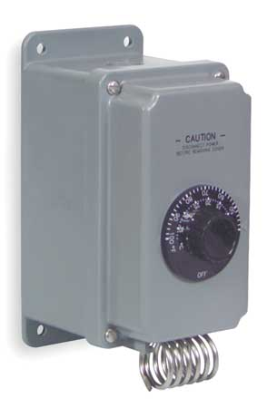 Line Voltage Mechanical Thermostat,  24 to 277VAC