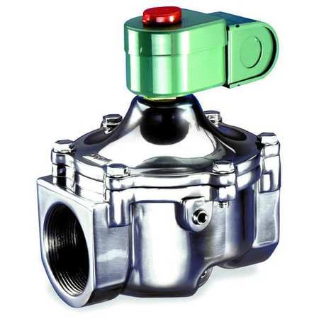 "1-1/2"" 2/2 Fuel Gas Solenoid Valve 1-5/8"" ORF"
