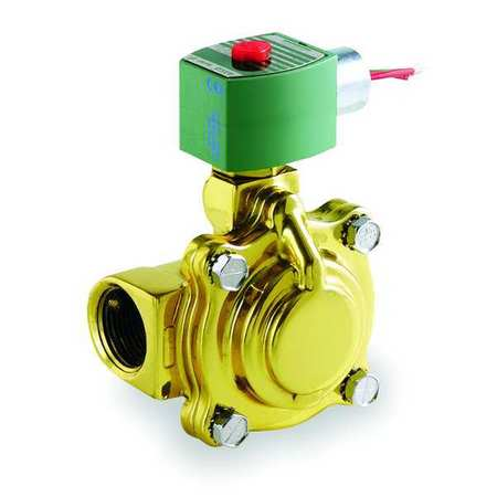 Solenoid Valve, Brass, NC, Air,  Inert Gas