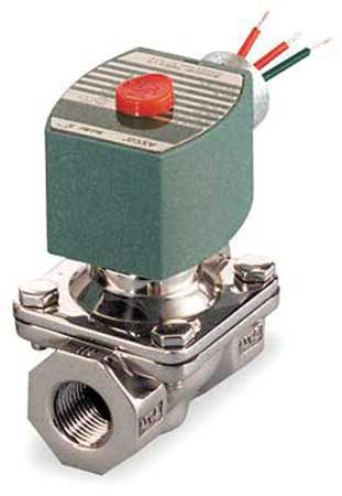 Solenoid Valve, Brass, NO, Air,  Inert Gas