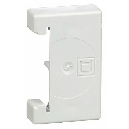 ScrewOn End Clamp, 6.20in L, Polycarbonate