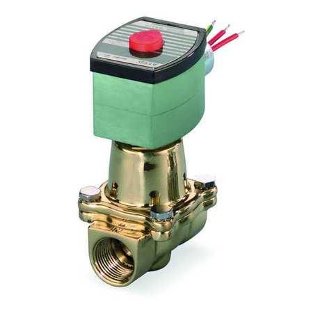 """3/8"""" NPT 2-Way Hot Water Solenoid Valve 120VAC"""