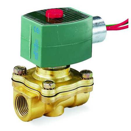 "3/4"" NPT 2-Way Fuel Gas Solenoid Valve 110/120VAC"