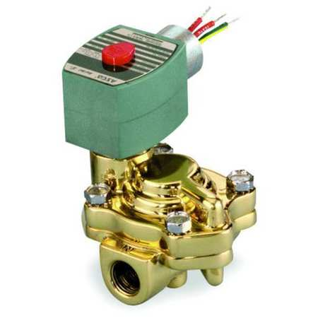"3/4"" NPT 2-Way Slow Closing Solenoid Valve 120VAC"