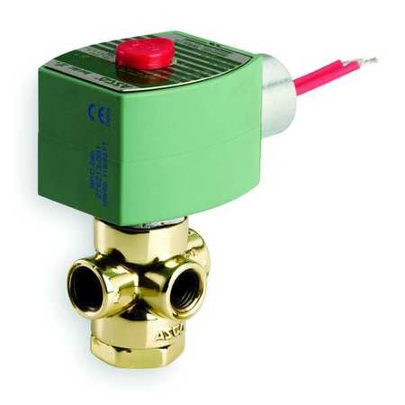 "1/8"" NPT 3-Way Quick Exhaust Solenoid Valve 120VAC"