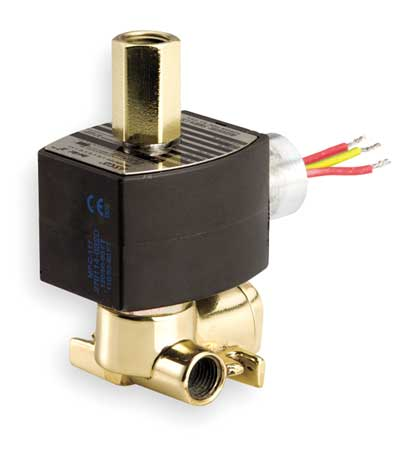 "1/4"" 3/2 Quick Exhaust Solenoid Valve 3/32"" ORF"