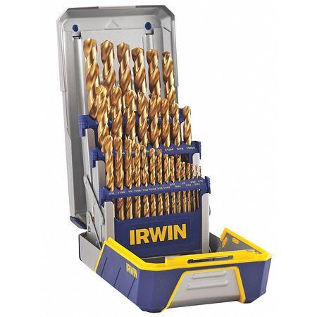 Twist Drill Bit Set, 29-pc, 1/16 to 1/2In