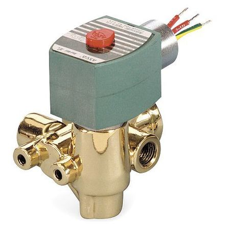 "3/8"" NPT 3-Way Quick Exhaust Solenoid Valve 120VAC"