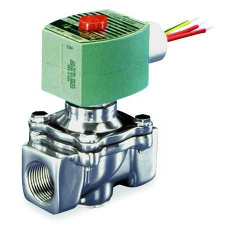 "3/4"" NPT 2-Way Air & Fuel Gas Solenoid Valve 120VAC"