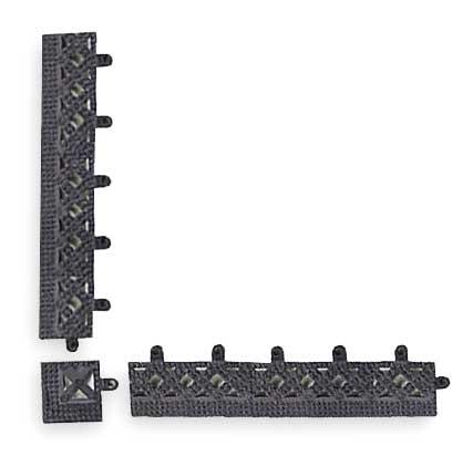 """Modular Lok-Tyle, Black, 2"""" x 12"""""""