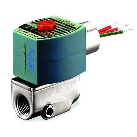 "3/8"" NPT 2-Way Fuel Gas Solenoid Valve 120VAC"