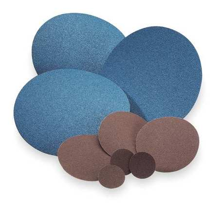 PSA Sanding Disc, AlO, Cloth, 5 In, 36 Grit