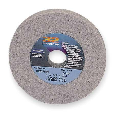 Grinding Wheel, T1, 6x1/4x1-1/4, AO, 80G, PK5