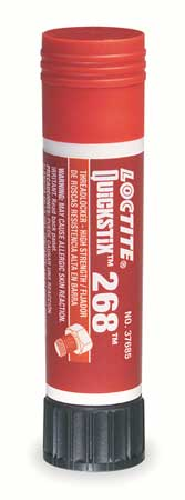 Threadlocker 268, 0.32 oz., Stick, Red