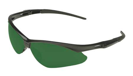 Jackson Shade 5.0 Safety Glasses,  Scratch-Resistant,  Wraparound