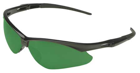 Jackson Shade 3.0 Safety Glasses,  Scratch-Resistant,  Wraparound