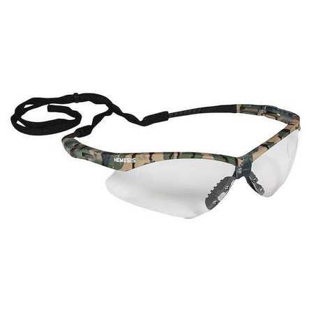 Jackson Safety Nemesis Safety Glasses CLR AntiFog Len Camo Frame ...