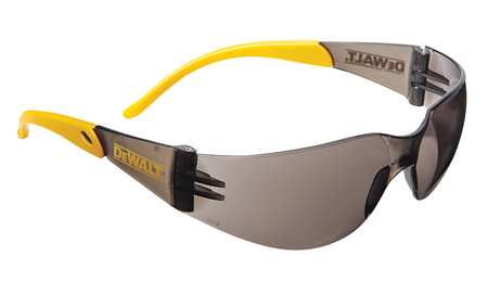 Dewalt Smoke Safety Glasses,  Scratch-Resistant,  Wraparound