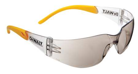 Dewalt Indoor/Outdoor Safety Glasses,  Scratch-Resistant,  Wraparound