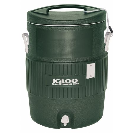 Beverage Cooler, 10 gal.,  Green