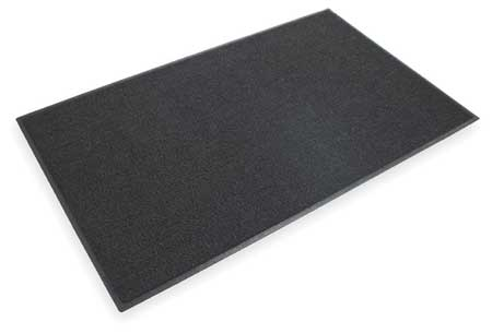 Entrance Scraper Mat, Black, 3ft. x 5ft.
