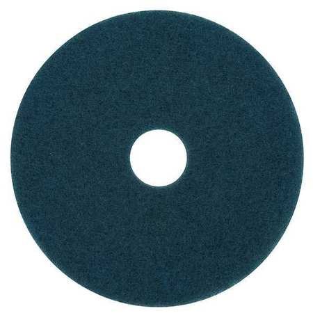 Scrubbing Pad, 20 In, Blue, PK5