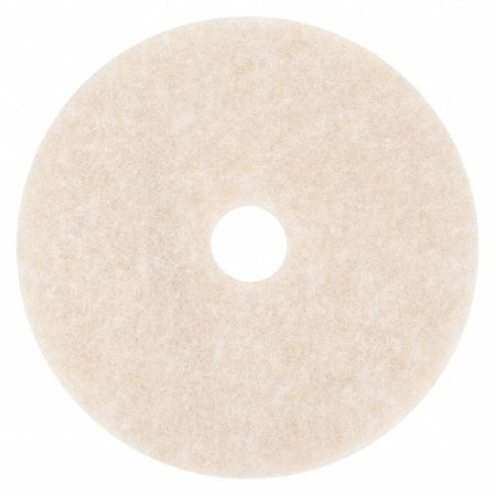 Burnishing Pad, 20 In, Peach, PK5