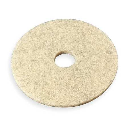 Burnishing Pad, 24 In, Tan, PK5