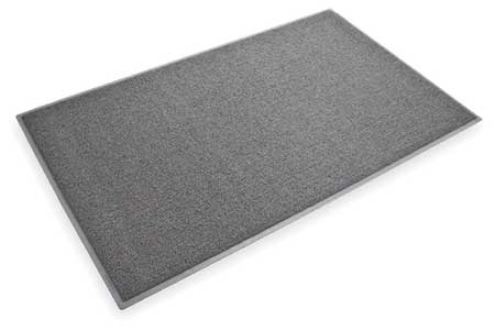 Entrance Scraper Mat, Gray, 3ft. x 20ft.