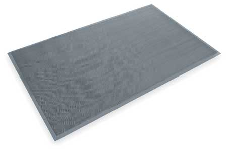 Entrance Scraper Mat, Gray, 4ft. x 6ft.