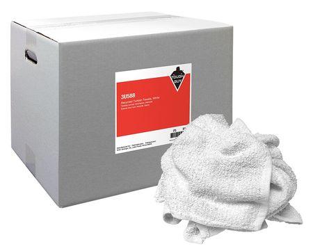 Turkish Shop Towels, White, 25 lb. Box