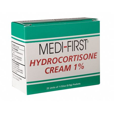 Hydrocortisone Packets, Packet, 1g, PK25