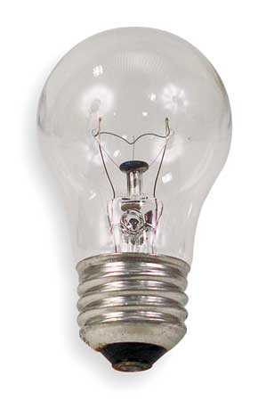GE LIGHTING 60W,  A15 Incandescent Light Bulb