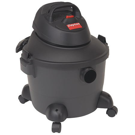 Wet/Dry Vacuum, 3.5 HP, 6 gal., 120V
