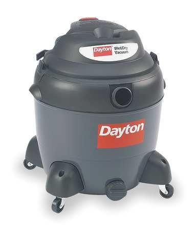 Wet/Dry Vacuum, 6.5 HP, 18 gal., 120V