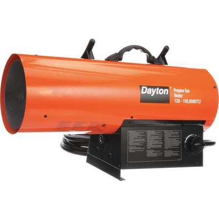 120000/150000 BtuH Torpedo Portable Gas Heater,  LP