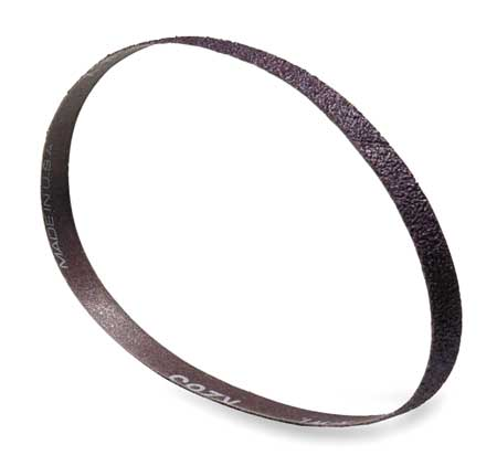 Sanding Belt, 1/2 In Wx12 In L, AO, 100GR