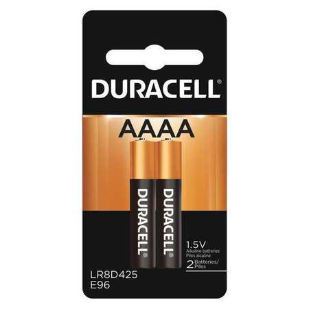 Duracell CopperTop Alkaline AAAA Batteries,  2 Pack