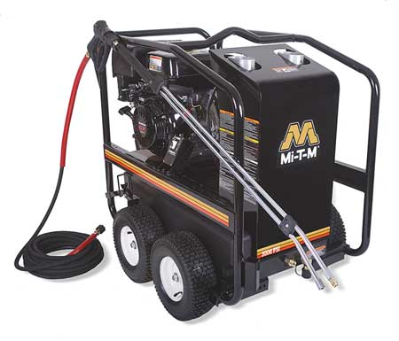 3000 psi 3.5 gpm Hot Water Gas Pressure Washer