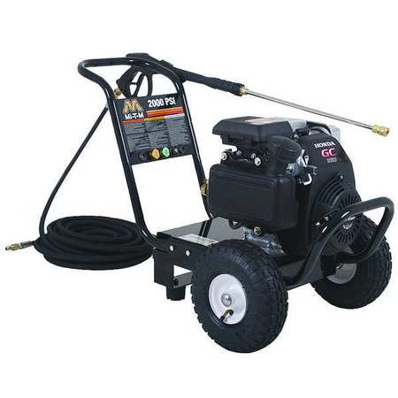 2000 psi 2.5 gpm Cold Water Gas Pressure Washer