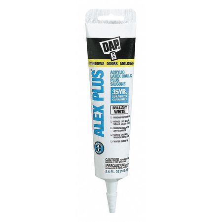 Caulk, 5.5 oz, White