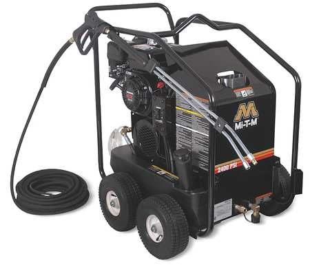 2400 psi 2.6 gpm Hot Water Gas Pressure Washer