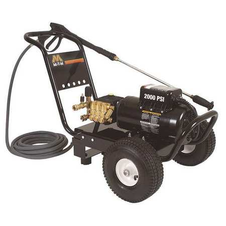 2000 psi 2.8 gpm Cold Water Electric Pressure Washer