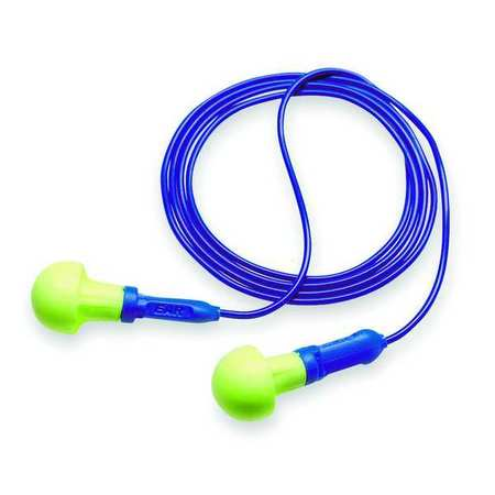 Reusable Ear Plugs, 28dB, Corded, Univ, PK100