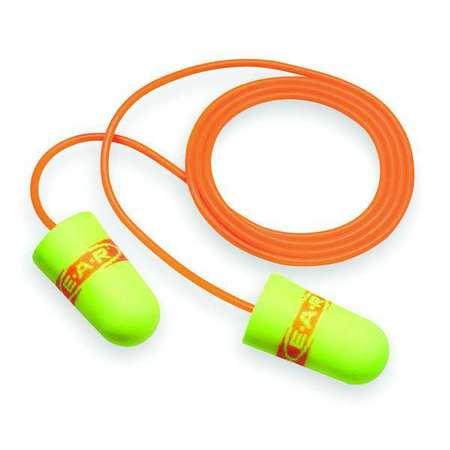 Ear Plugs, 33dB, Corded, Universal, PK200